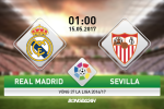 Real Madrid vs Sevilla (1h ngay 15/5): Can than nguon hung khoi Blanquirrojos