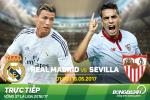 Real Madrid 4-1 Sevilla (KT): Chien thang cua hay va may