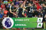 Stoke 1-4 Arsenal (KT): Doi tay cua Crouch khong the ngan man huy diet cua Phao thu