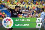 Tong hop: Las Palmas 1-4 Barca (Vong 37 La Liga 2016/17)