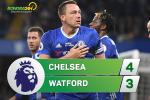 Tong hop: Chelsea 4-3 Watford (Da bu vong 28 NHA 2016/17)