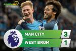 Tong hop: Man City 3-1 West Brom (Da bu vong 34 NHA 2016/17)