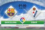 Barca vs Eibar (1h00 ngay 22/5): Thien duong mong manh