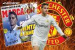 Roi Real, James Rodriguez chi den Premier League