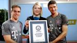 Bayern Munich duoc ghi ten vao sach ky luc Guinness