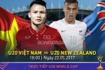 U20 Viet Nam 0-0 U20 New Zealand (KT): Thi dau qua cam, U20 Viet Nam chia diem tiec nuoi