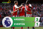 Arsenal 3-1 Everton (KT): Chien thang danh du va dau don