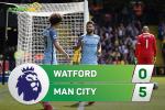 Tong hop: Watford 0-5 Man City (Vong 38 NHA 2016/17)