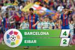 Tong hop: Barca 4-2 Eibar (Vong 38 La Liga 2016/17)