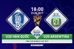 U20 Hàn Quốc 2-1 U20 Argentina (KT): Sao trẻ Barca ra tay hạ gục vũ công Tango trẻ