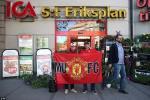 Chùm ảnh: CĐV Quỷ đỏ đại náo Stockholm trước thềm chung kết Europa League