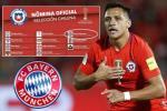 Rộ tin Alexis Sanchez đồng ý tới Bayern