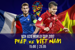U20 Viet Nam 0-4 U20 Phap (KT): Chien thang cua dang cap