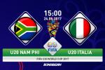 U20 Nam Phi 0-2 U20 Italia (KT): Chiến thắng đơn giản của Azzurri trẻ