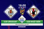 U20 Uruguay 2-0 U20 Nhat Ban (KT): Lo dien nha vo dich tuong lai