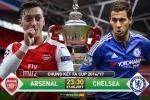 TRỰC TIẾP Arsenal vs Chelsea 23h30 ngày 27/5 (FA Cup 2016/17)
