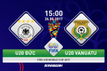 U20 Đức 3-2 U20 Vanuatu (KT): Chiến thắng mất mặt của Mannschaft trẻ