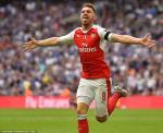 Arsenal len ke hoach troi chan Ramsey