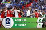 Tổng hợp: Arsenal 2-1 Chelsea (Chung kết FA Cup 2016/17)