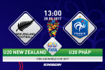 U20 New Zealand 0-2 U20 Phap (KT): Suc manh tuyet doi cua ung vien vo dich
