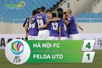 Tong hop: Ha Noi 4-1 Felda (AFC Cup 2017)
