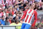 M.U chu y: Griezmann da bay to uoc nguyen ra di voi BLD Atletico Madrid