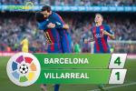 Tong hop: Barca 4-1 Villarreal (Vong 36 La Liga 2016/17)