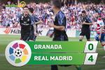 Tong hop: Granada 0-4 Real Madrid (Vong 36 La Liga 2016/17)