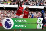 Arsenal 2-0 MU (KT): Cham dut mach bat bai boi nguoi cu Welbeck