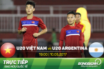 U20 Viet Nam 1-4 U20 Argentina (KT): Duc Chinh toa sang, U20 Viet Nam khong tranh khoi that bai
