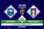 U20 Phap 1-2 U20 Italia (KT): Azzurri tre xuat sac da bai ung vien vo dich so 1
