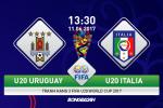 "U20 Uruguay 0-0 (pen 1-4) U20 Italia (KT): ""Azzurri"" giành hạng 3 U20 World Cup sau màn đấu súng"