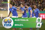 Tong hop: Australia 0-4 Brazil (Giao huu quoc te)