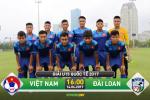 U15 Viet Nam 5-2 U15 Dai Loan (KT): Quoc Hoang lap hat-trick, chu nha ra quan tung bung