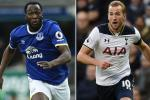 Harry Kane dang gia gap doi Lukaku