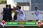 U15 Viet Nam 0-0 U15 Myanmar (KT): Hoa be tac, U15 Viet Nam chap nhan ngoi a quan