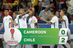 Tong hop: Cameroon 0-2 Chile (Confed Cup 2017)