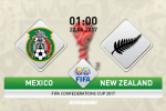 Mexico vs New Zealand (01h45, 22/06): Khang dinh dang cap