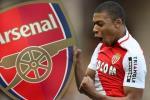 Arsenal se vo dich Premier League neu co Mbappe
