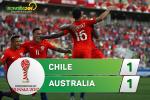 Tong hop: Chile 1-1 Australia (Confed Cup 2017)