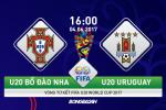 U20 BDN 2-2 (pen 4-5) U20 Uruguay (KT): Seleccao tre thua dau sau loat dau sung kieu moi