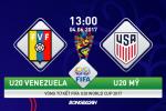 U20 Venezuela 2-1 U20 My (KT): Hien tuong vao ban ket sau 120 phut chien dau