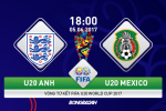U20 Mexico 0-1 U20 Anh (KT): Tieu Tam su kien cuong vao ban ket