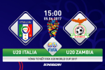 U20 Italia 3-2 U20 Zambia (KT): Choi thieu nguoi, Azzurri tre van xuat sac vao ban ket