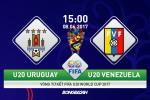 U20 Uruguay 1-1 (Pen 3-4) U20 Venezuela (KT): Lam nen lich su sau man dau sung nghet tho