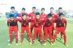 U15 Viet Nam 4-0 U15 Dong Timor: Vao ban ket gap U15 Australia bang thanh tich toan thang