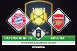 Bayern Munich 1-1 (pen 2-3) Arsenal (KT): Phao thu thang ngoan muc tren cham 11m