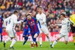 Tran El Clasico mua giai 2017-18 se dien ra bat loi cho Real Madrid