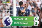 Tong hop: Newcastle 0-2 Tottenham (Vong 1 NHA 2017/18)