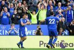 Tong hop: Leicester 2-0 Brighton (Vong 2 NHA 2017/18)